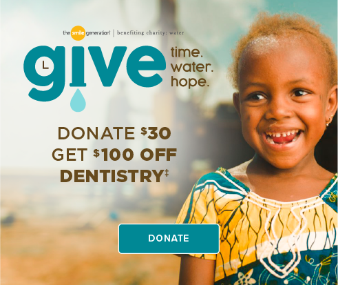 Donate $30, Get $100 Off Dentistry - Brookridge Dentistry and Orthodontics